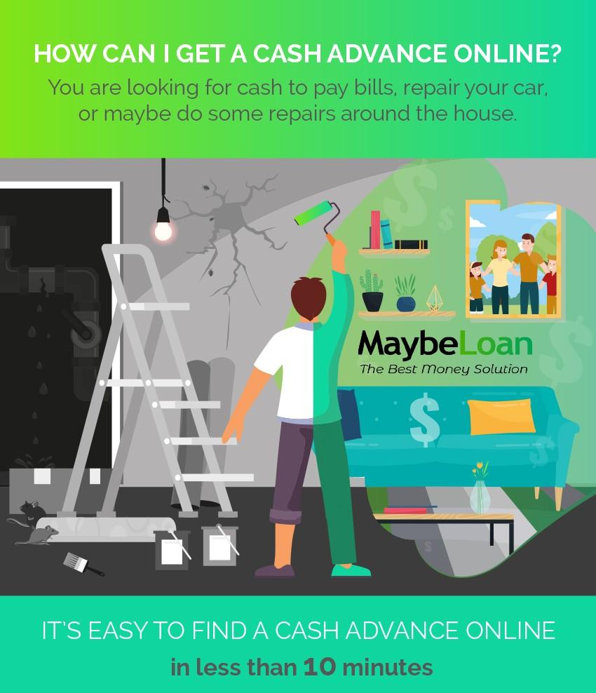 How can I get a cash advance online