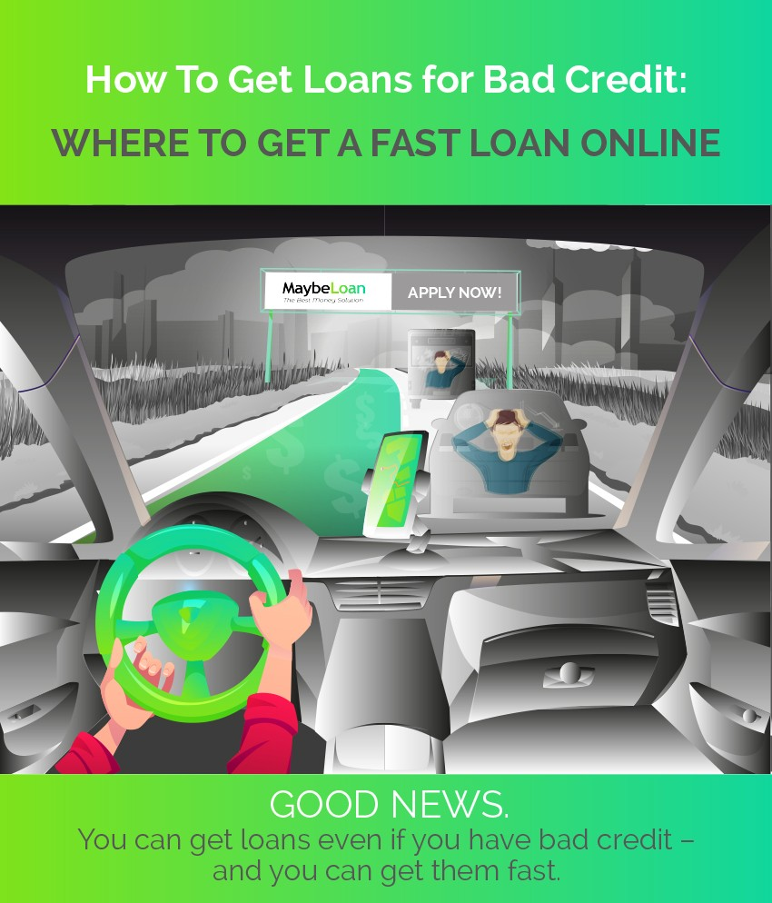 How And Where To Get Fast Bad Credit Loans Online