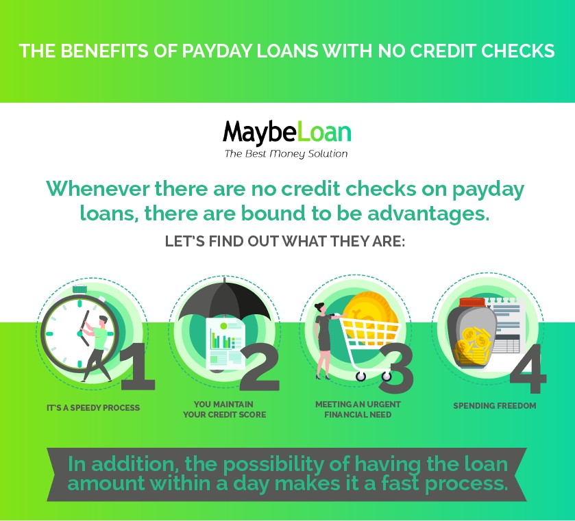 The benefits of payday loans with no credit checks