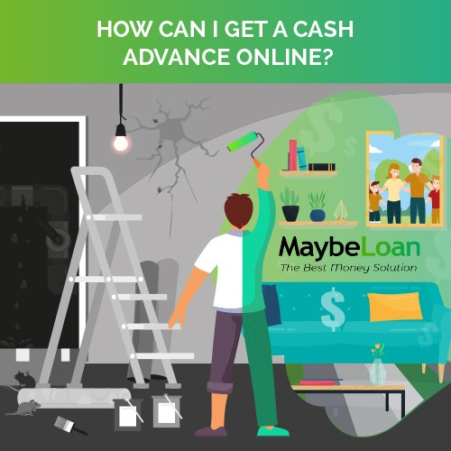 How can I get a cash advance online