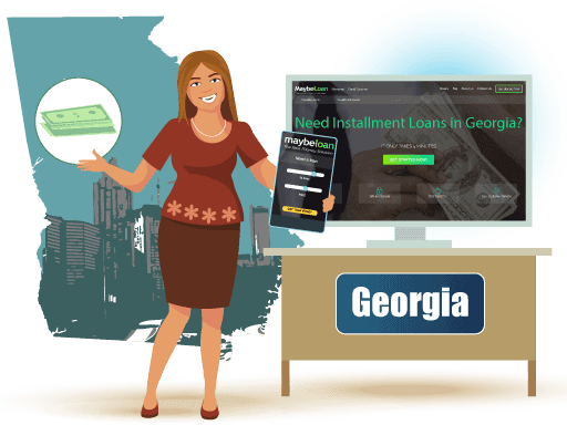 Installment Loans in Georgia Online at MaybeLoan