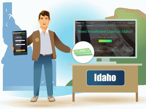 Installment Loans in Idaho Online at MaybeLoan