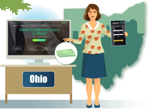 Installment Loans in Ohio Online at MaybeLoan