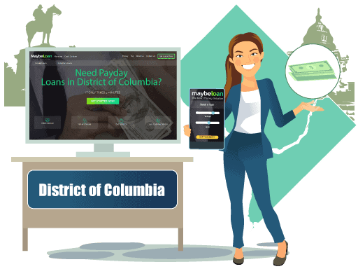 Payday loans in District of Columbia online