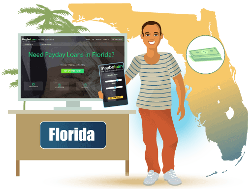 Payday Loans in Florida Online at MaybeLoan