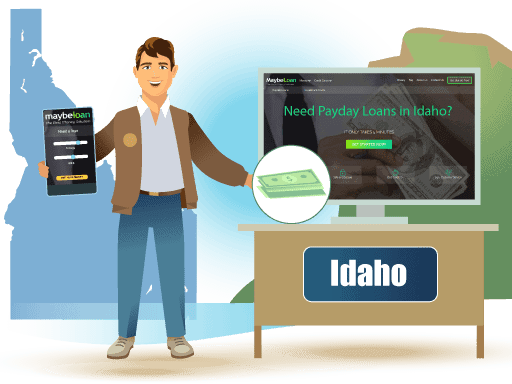 Payday Loans in Idaho Online at MaybeLoan
