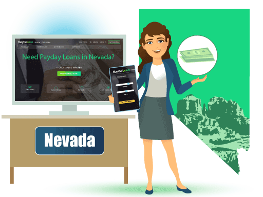 Payday Loans in Nevada Online at MaybeLoan