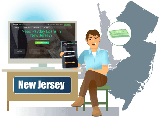 Payday Loans in New Jersey Online at MaybeLoan