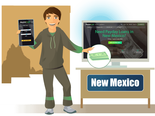 Payday Loans in New Mexico Online at MaybeLoan