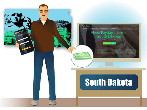 Payday loans In South Dakota (SD) online