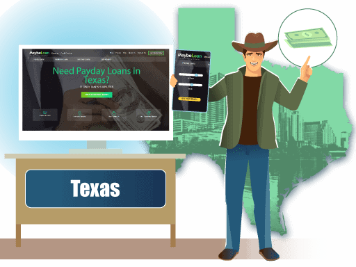 Payday loans In Texas (TX) online