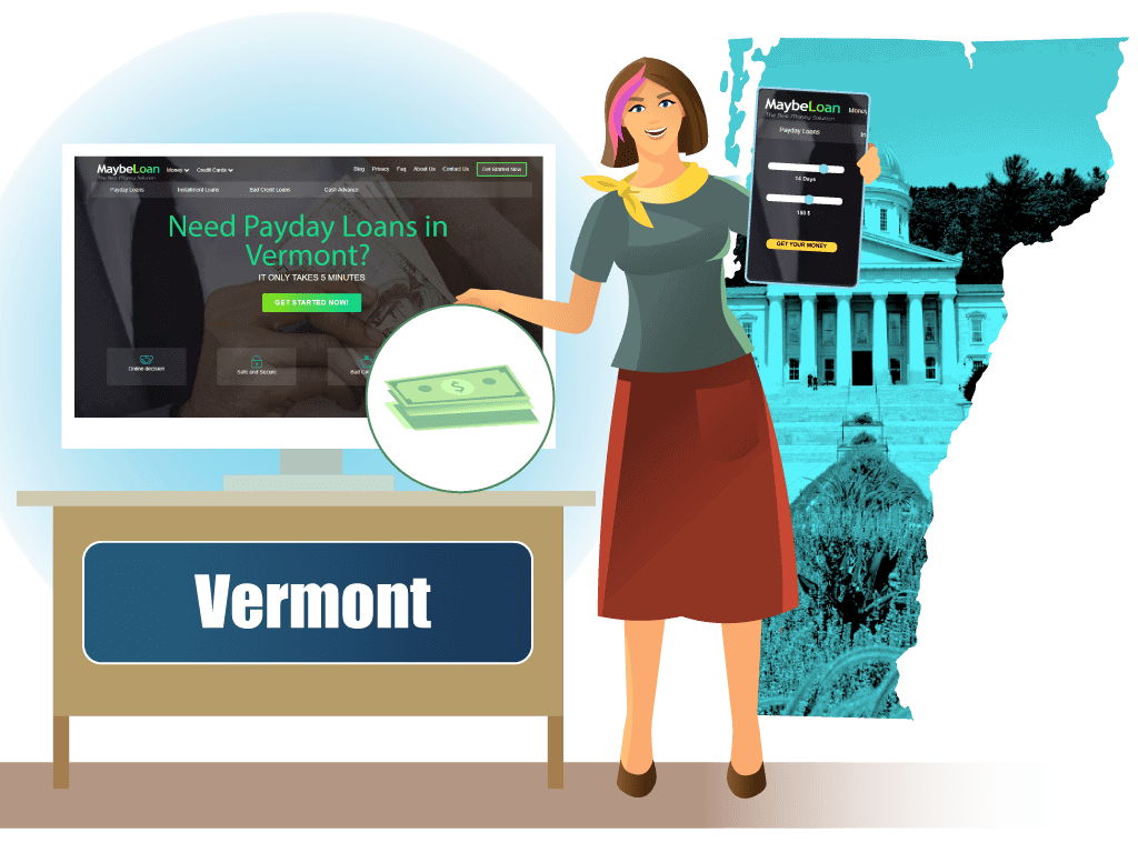 Payday loans In Vermont (VT) online