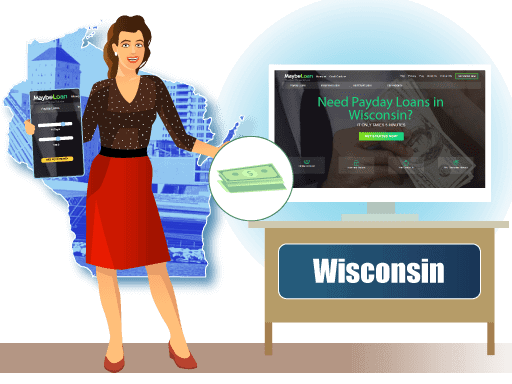 Payday loans In Wisconsin (WI) online